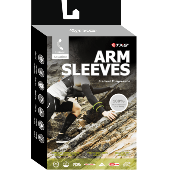 TXg Arm Compression Sleeve Packaging