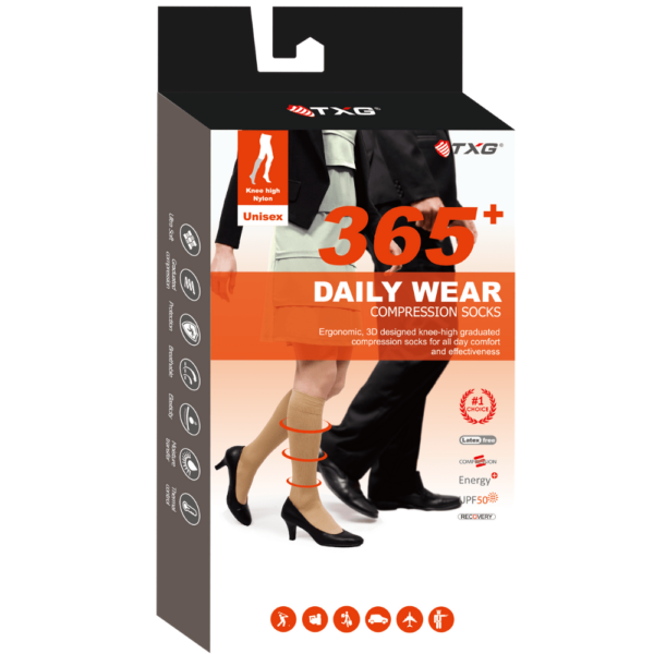 TXG Classic Compression Sock Packaging