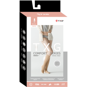 TXG Compression Socks for Women Packaging