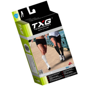TXG Sports Compression Socks Packaging