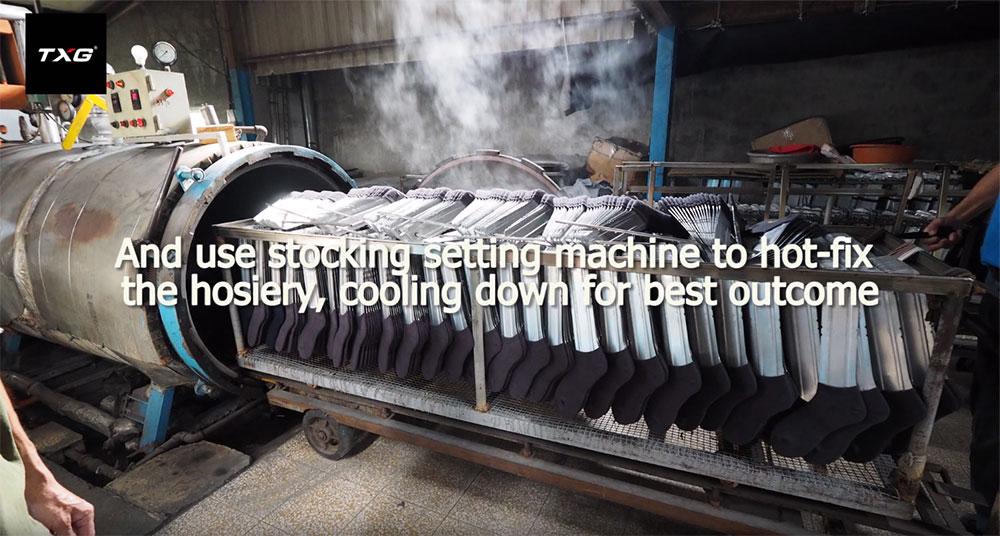 TXG Stocking Setting Machine