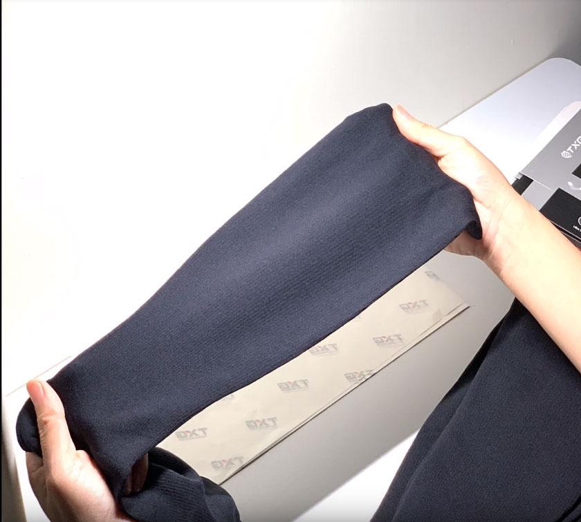 Each TXG sock is carefully checked