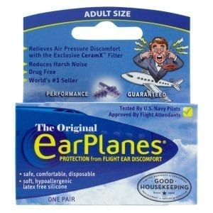 EarPlanes - Protection from Flight Ear Discomfort Box