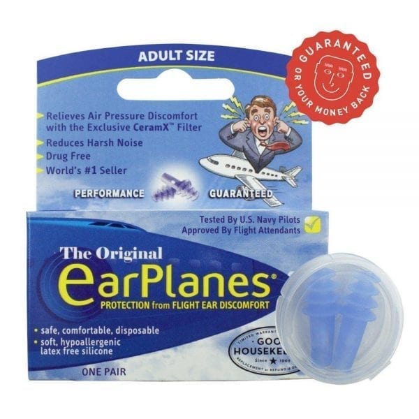 EarPlanes for Adults Packaging