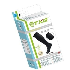 TXG Antibacterial Support Socks Packaging