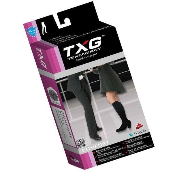 TXG Women's Compression Socks Packaging